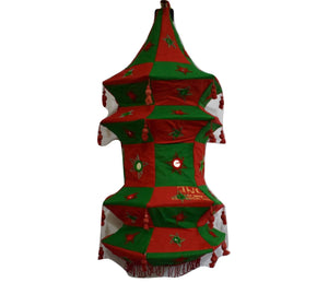 Handmade Pipili Applique Handicraft Lamp Shade Made in Odisha  AJODI001034