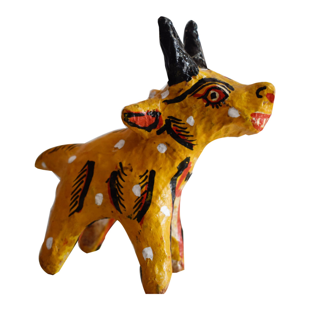 Handpainted Deer Made of Cow Dung in odisha Ragurajpur AJODI001055