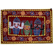 Embroidery with Mirror Work Handmade Pipili Lord Jaganath Chandua AJODI001268