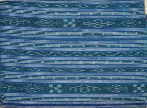 COTTON Fabric IKAT DESIGNED UNSTICHED RUNNING MATERIAL Of Odisha Nuapatna AJODI001379