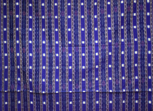 Multicolor With Grey Small Pasapalli Running Material of Odisha AJODI001480