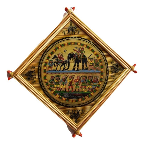 Tribal Patachitra Frame Painting Of Raghurajpur, Odisha AJODI001617