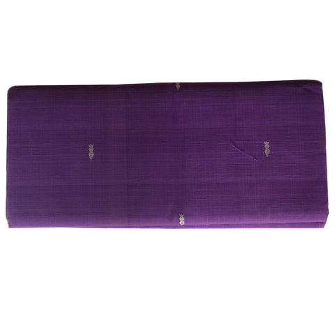 Booti Design Purple Colour Berhampuri Cotton Saree Of Odisha AJODI001900