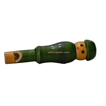 Karnataka channapatna Small Handmade Wooden Whistle for Kids AJODI001927