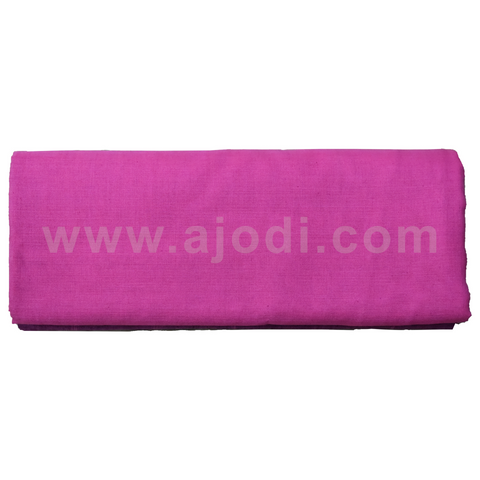 Pink Color Odisha Handloom Maniabandha Plain Cotton Saree AJODI002195