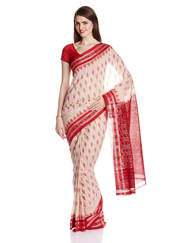 Nuapatna Cotton Odisha Handloom Body Bandha Saree AJODI002585