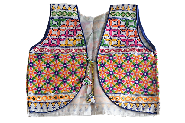 Handicraft Embroidery Design With Mirror Work Rajasthani Ladies Jacket AJODI003027