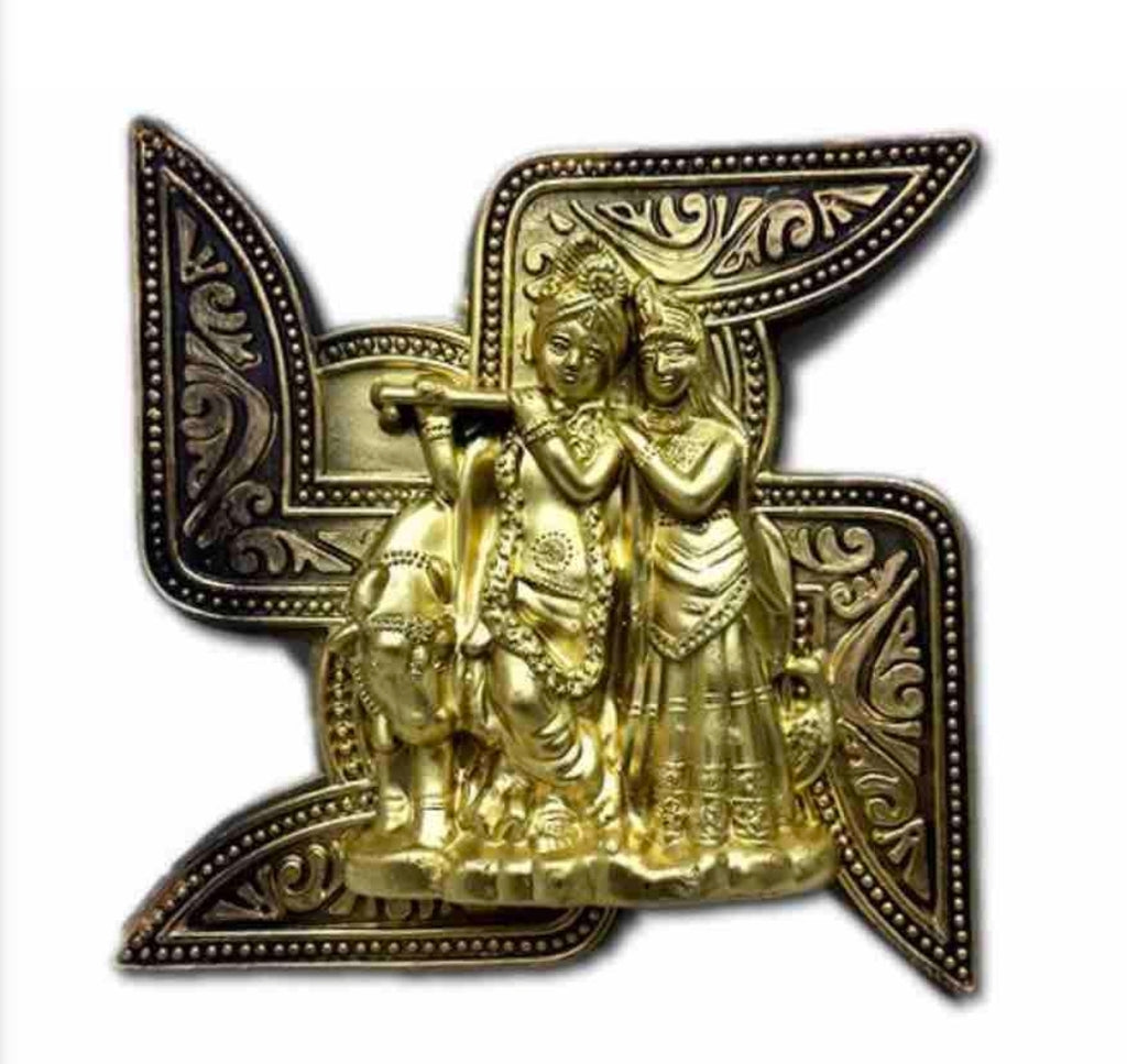 Swastik Lord Krishna Idol Home Decor