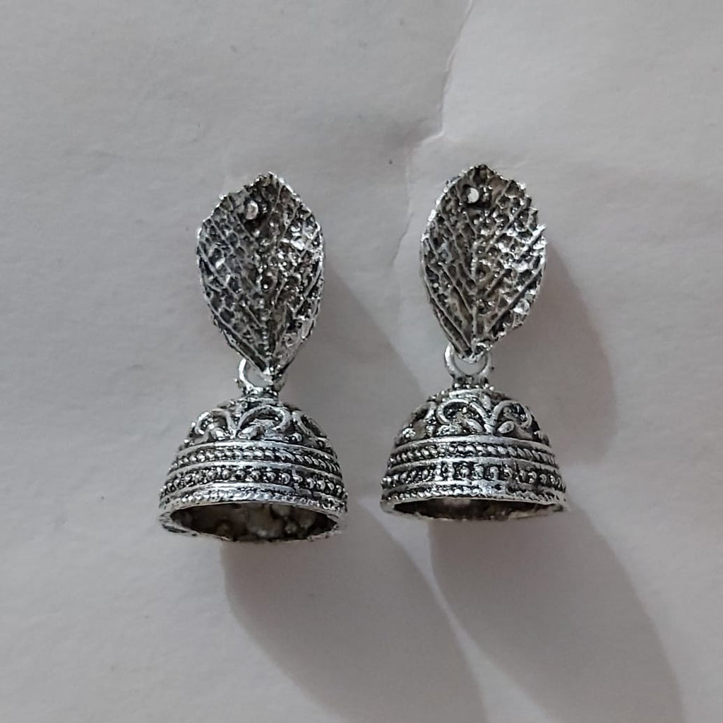 Cheap Oxidized handicrafted Indian Fashion designs Collection Rajasthani Jewellery Earring AJODI006025