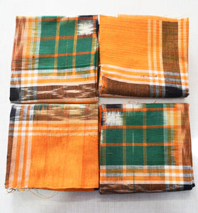 Handloom Cotton Handkerchief of Odisha, Sambalpur AJODI001781
