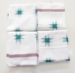 Handloom Cotton Handkerchief of Odisha, Sambalpur AJODI001783