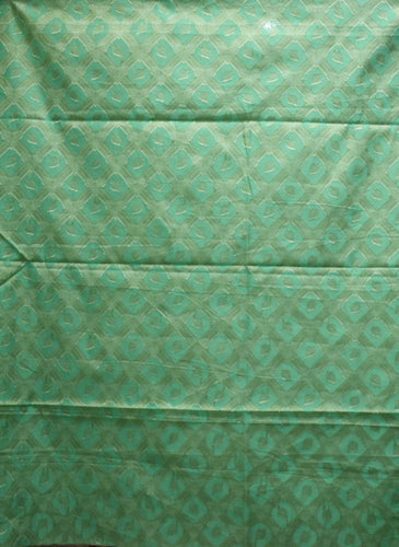 Light Green With Multi Handloom Cotton silk Dress Material of Banarasi AJODI001806