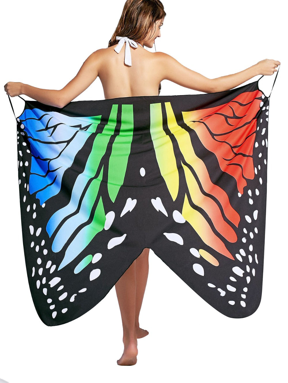 Butterfly Bikini Swimsuit Cover Up