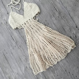 Knitted Backless Cover Up