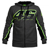 2017 Valentino Rossi VR46 M1 For Yamaha Factory Racing Team Moto GP Adult Hoodie Sports Sweatshirt Jackets Blue - shopADON
