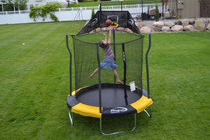 "84"" Trampoline and Enclosure indoor and outdoor T-brackets lock - shopADON"