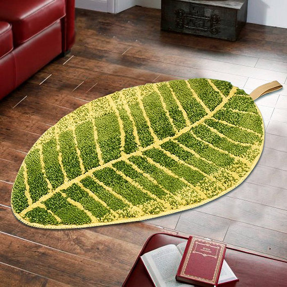 Banana Leaf Carpet Quality Microfiber Nonslip - shopADON