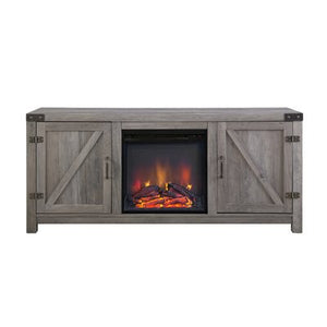 "Adalberto TV Stand for TVs up to 65"" with Optional Fireplace - shopADON"