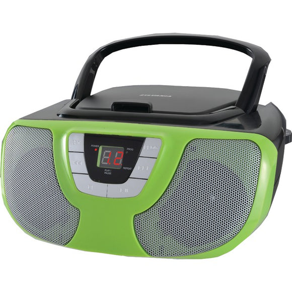 Sylvania Portable CD Radio Boom Box Teal
