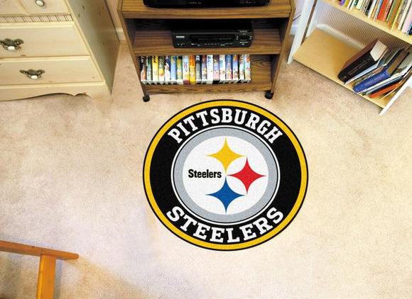Pittsburgh Steelers Roundel Mat - shopADON