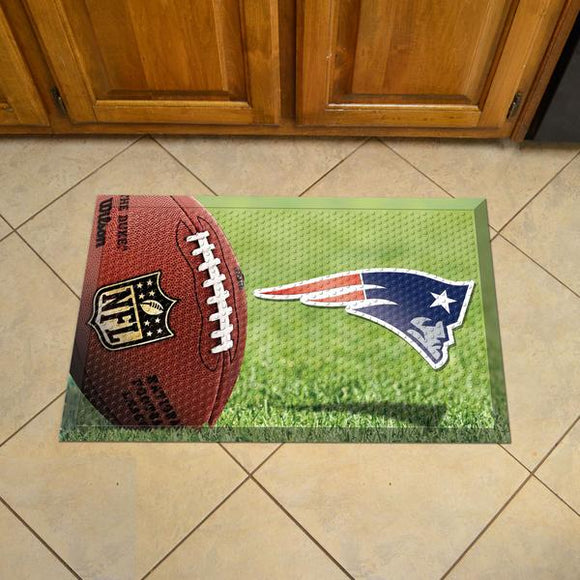 New England Patriots Scraper Mat - Fan - shopADON