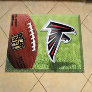 "NFL - Atlanta Falcons Scraper Mat 19""X30"" - Ball - shopADON"