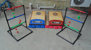 2-in-1 Cornhole/Ladder Ball Games indoor or Outdoor - shopADON