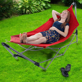 Portable Camping Hammock with Stand Outdoor and Indoor - shopADON