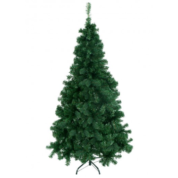 Green PVC Artificial Christmas Tree 5' / 6' / 7' / 8' - shopADON