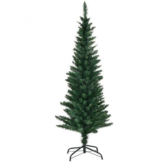 Artificial Slim Pencil Christmas Tree with Stand 5' / 6' / 9' - shopADON