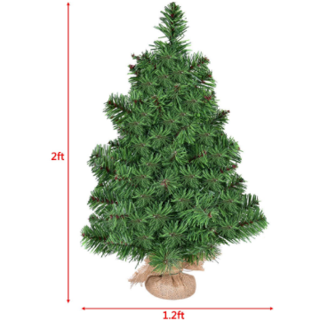 Christmas Tree Holiday Season Decor Artificial PVC  2' / 3' - shopADON