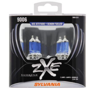 SYLVANIA 9006 SilverStar ZXe Halogen Headlight Bulb, (Pack Of 2) - SHOPADON