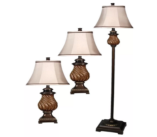 Southfield 3 Piece Table and Floor Lamp Set by Astoria Grand - shopADON