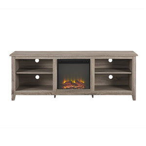 "Sunbury 70"" TV Stand with optional Fireplace - shopADON"