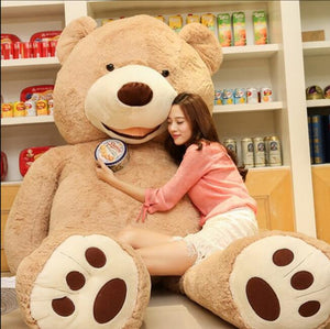 Selling Toy Big Size 200cm American Giant Bear Skin ,Teddy Bear Coat ,Good Quality Factary Price Soft Toys For Girls - shopADON