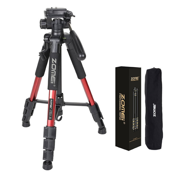 ZOMEI Q111 Professional Portable Travel Tripod & Pan Head for SLR DSLR Digital Camera Three color
