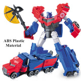Transformation 4 Robot Car ABS Plastic Class Cool Model Boy Toy - SHOPADON