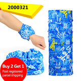 Buy Two Get One Cool Bicycle Seamless Bandanas Summer Outdoor Sport  Ride Mask Bike Magic Scarf Headband - shopADON
