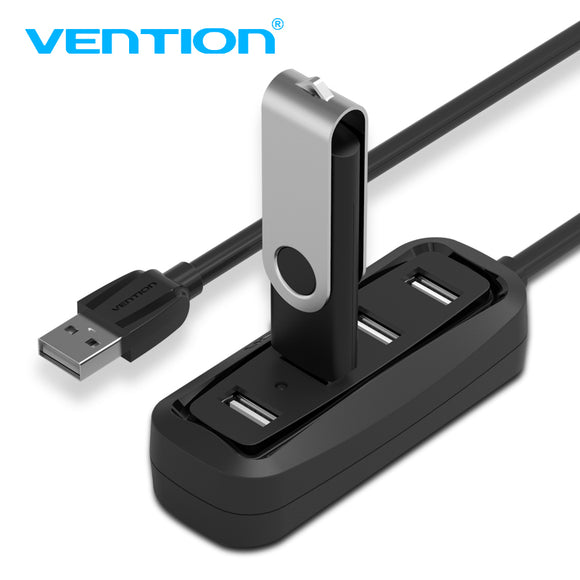 4 Ports USB 2.0 Hub USB Splitter  for Apple Macbook Air Laptop PC Tablet - shopADON