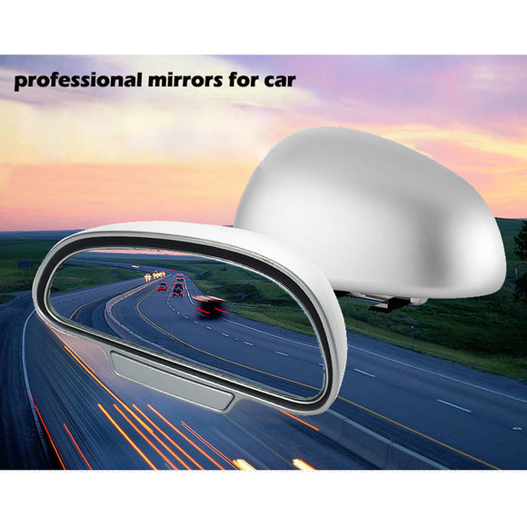 Adjustable Wide Angle Side Rear Mirrors blind spot - shopADON