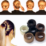 Women Hair Accessories Hair Curls Bun Hair Band Hair Twist - SHOPADON