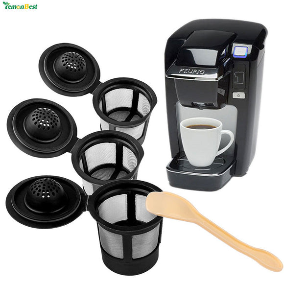3Pcs Refillable Dolce Gusto Reusable Coffee Filter Pod Keurig - shopADON