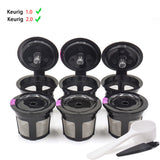 3Pcs/4pcs/6pcsset Pod Filters Compatible Keurig Reusable Coffee Filter - shopADON