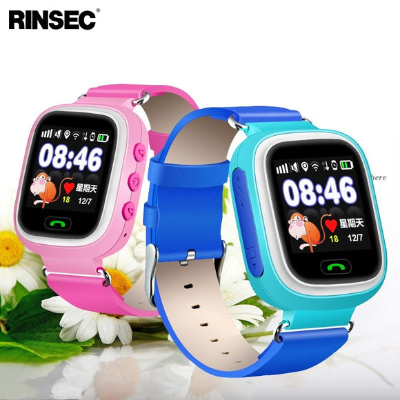 Q90 GPS Kid Smart Watch Baby Anti-lost Watch with Wifi Touch Screen