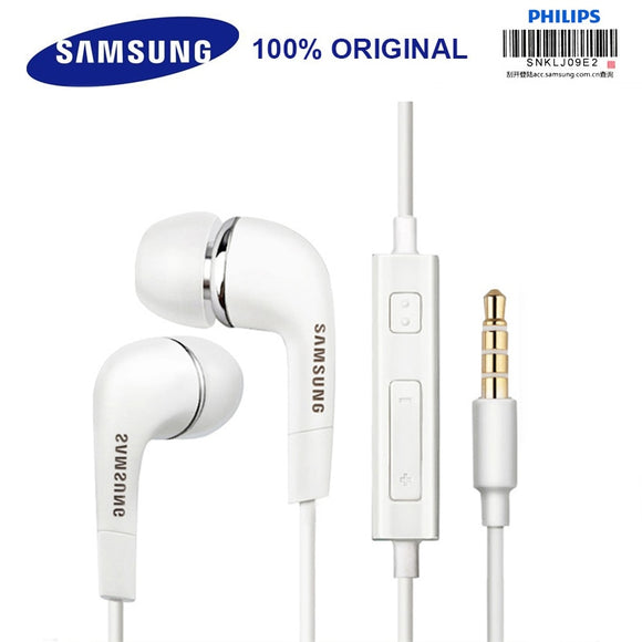SAMSUNG Original Earphone EHS64 Wired 3.5mm In-ear with Microphone - shopADON