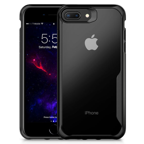 Rugged Ultra Slim Shockproof PC+TPU Bumper Case Cover for Apple iPhone 8/8 plus - shopADON