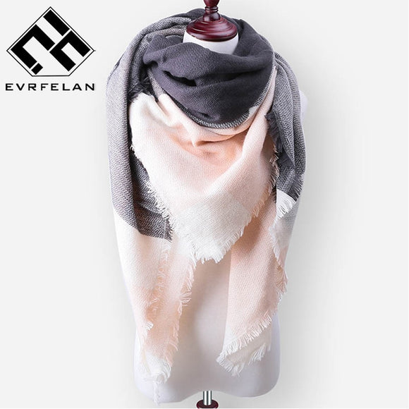 2018 New Fashion Brand Winter Scarf For Women Scarf - shopADON