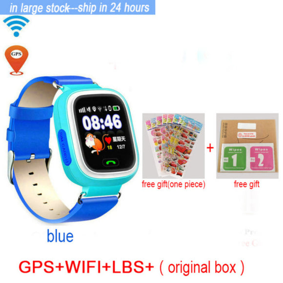 GPS Phone Children Watch 1.22 inch Color Touch Screen WIFI - shopADON