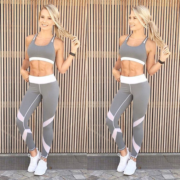 Women's Sports Yoga Workout Gym Fitness Leggings Exercise Athletic Pants - SHOPADON
