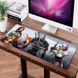 70cm X 30cm High-definition Printing Speed Big Mouse Pad Mat Washable Gaming Personality Mousepad The Witcher 3 Wild Hunt - shopADON